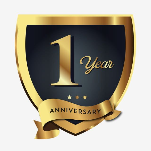 1st Anniversary Badge Logo Icon Badge Clipart Logo Icons Badge Icons Png And Vector With Transparent Background For Free Download Badge Icon Anniversary Logo Badge Logo
