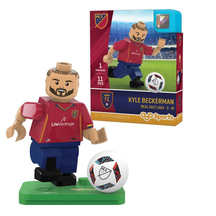 Kyle Beckerman Real Salt Lake OYO Sports 2016 Mini Player Figurine