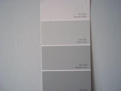 Gray Palette Sherwin Williams Silver Stran Is My Fav In