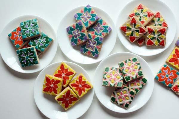 7 Ways to Celebrate Diwali: The Festival of Lights (Rangoli Cookie Recipe) #diwali #festivaloflights