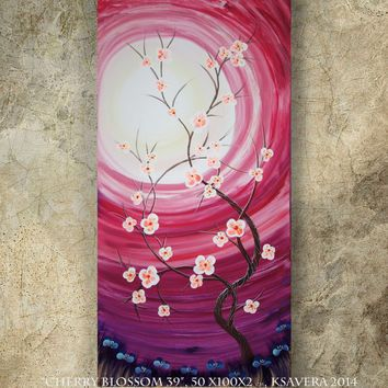 Best Cherry Blossom Canvas Art Products on Wanelo