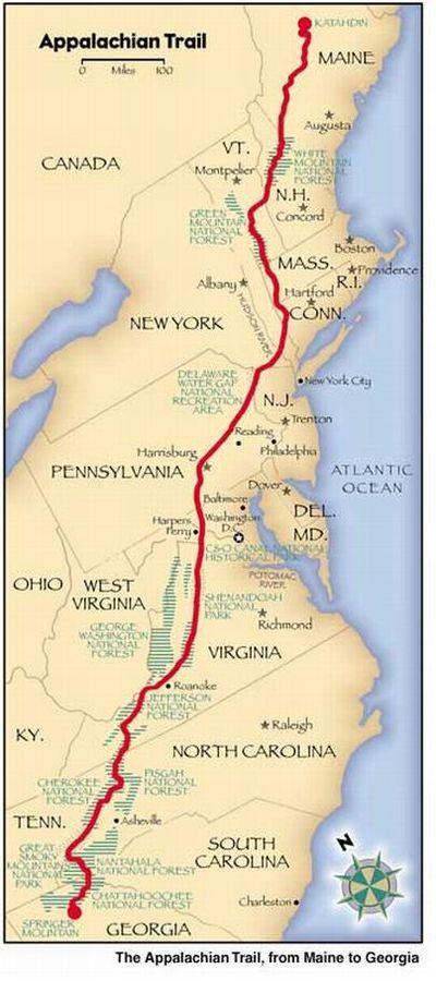 Appalachian Trail- Georgia to Maine