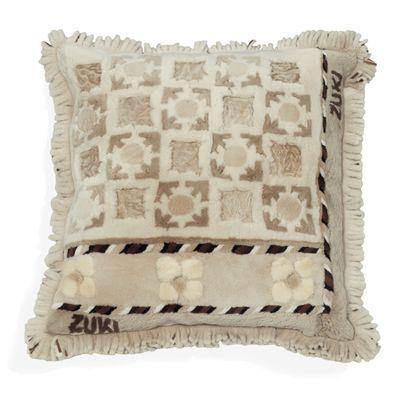 Gega | Cream Sheared Beaver Pillow - Free Shipping