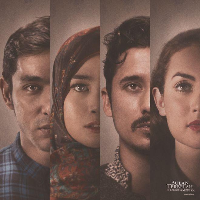 """""""Bulan Terbelah di Langit Amerika"""" yuk dukung perfilman Indonesia dengan menonton dan ajak saudara2nya beramai2:)"""