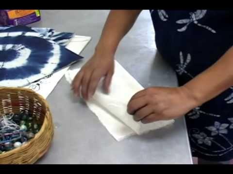 Proceso de teñido con añil, en Casa Blanca, Chalchuapa.