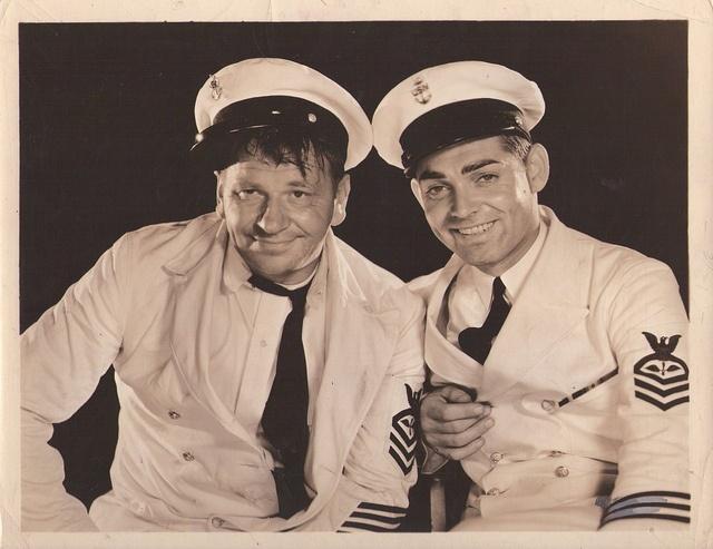 Wallace Beery & Clark Gable