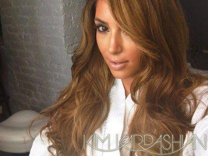 brown hair dye colorsKim Kardashians new hair color  brown blonde wig NeA4CddC