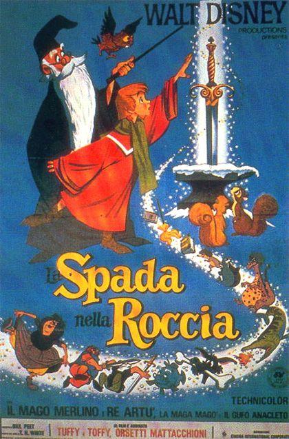 LA SPADA NELLA ROCCIA - WALT DISNEY