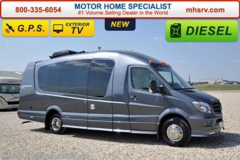 New 2016 EverGreen RV Imperial 245WS V-6 Mercedes Benz Turbo Diesel For Sale by Motor Home Specialist available in Alvarado, Texas
