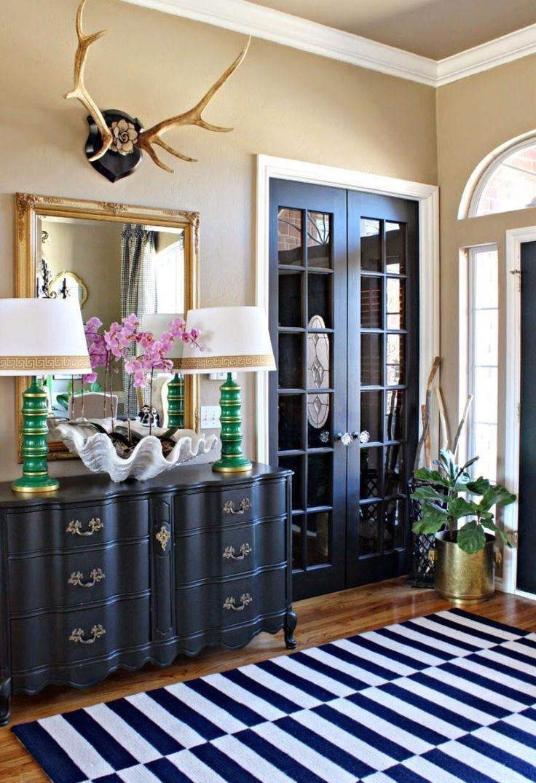 Door Drama! Black Interior Doors!  Why should you paint your doors black?