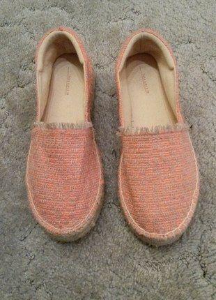 Kaufe meinen Artikel bei #Kleiderkreisel http://www.kleiderkreisel.de/damenschuhe/ballerinas/137619383-lachs-farbene-ballerinas-von-zara