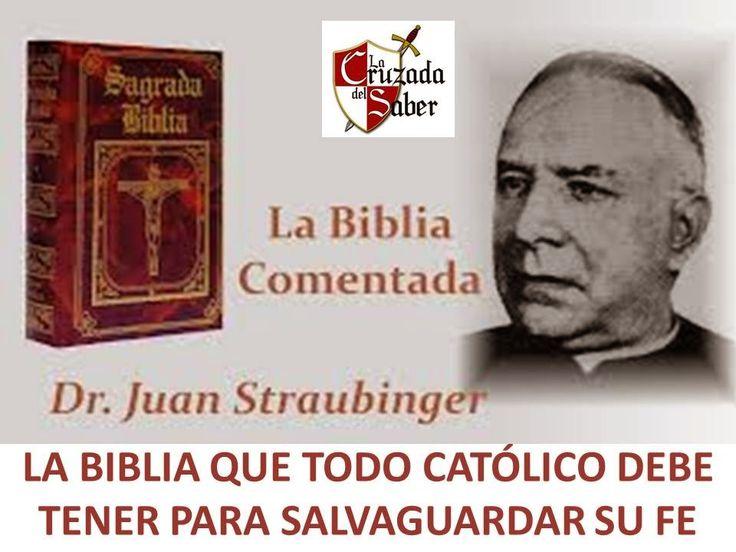 BIBLIA STRAUBINGER : TODO CATÓLICO DEBE POSEER | TEXTOS & LIBROS CATÓLICOS PARA AMAR A DIOS