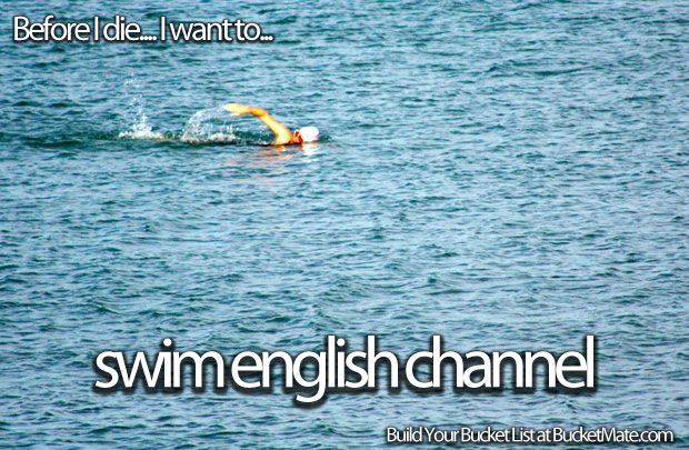 how to train to swim the english channel