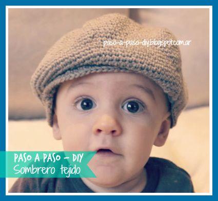 Sombrero tejido - Paso a Paso