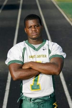 Despite a knee injury, High School Round Table member Deuce Finch ran for 1,397 yards and scored 30 touchdowns this season. Recently, he was named Kentucky's 2008 Mr. Football. Finch is the first St. Xavier Tiger to earn the title.