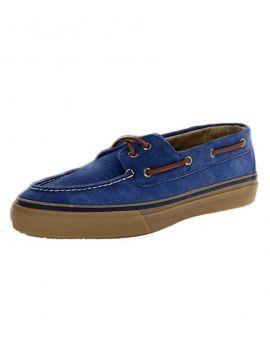 Sapatos de Vela Bahama Sperry Azul e Marrom