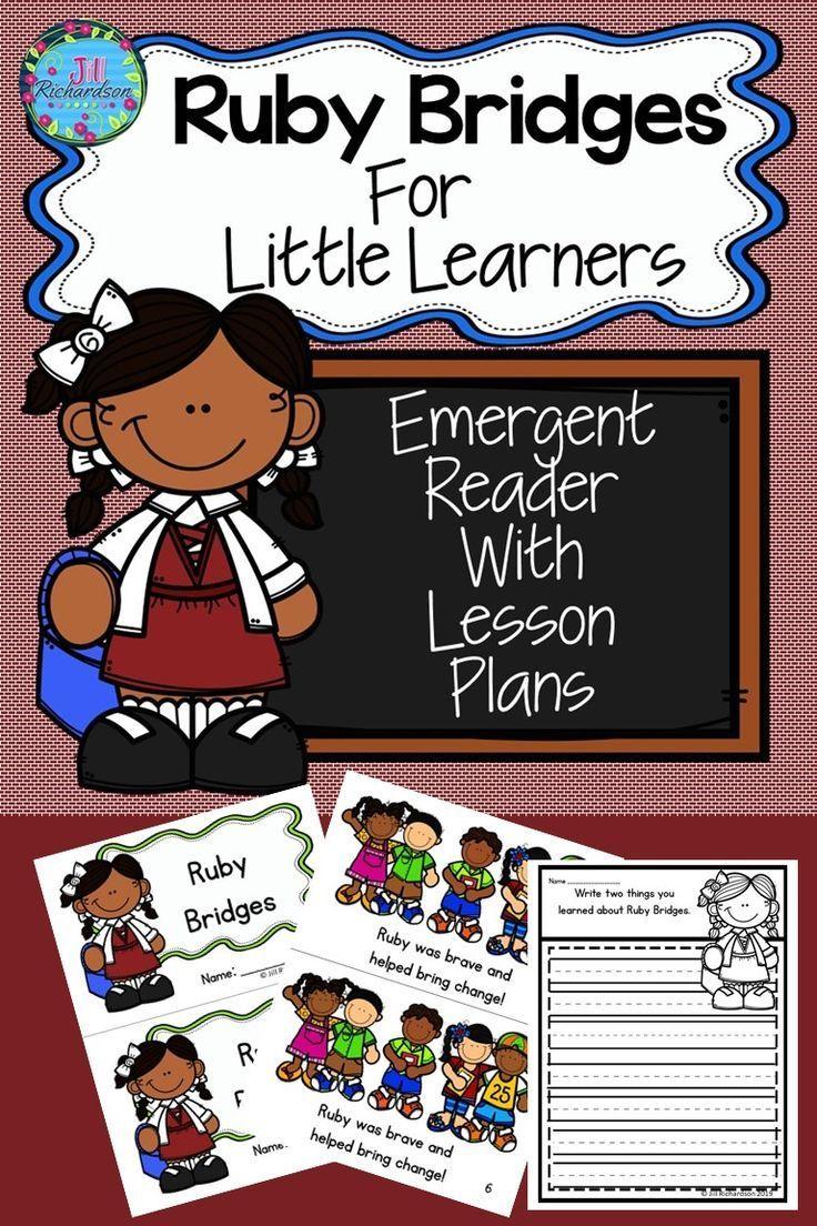 Jill Richardson Ruby Bridges Activities Ruby Bridges Kindergarten Emergent Readers [ 1104 x 736 Pixel ]