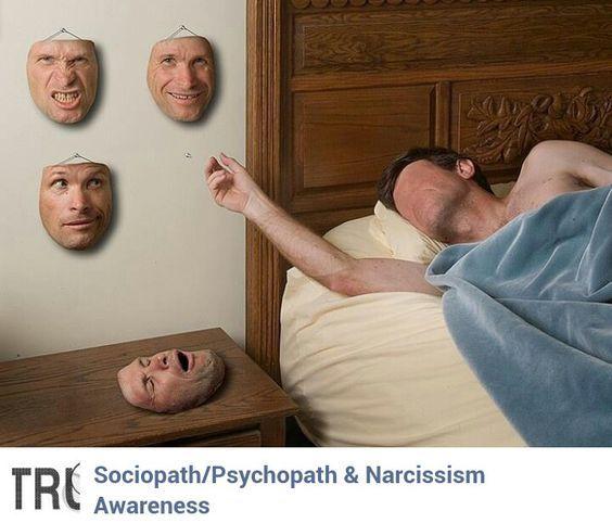 Как социопат маскируется под нормального человека