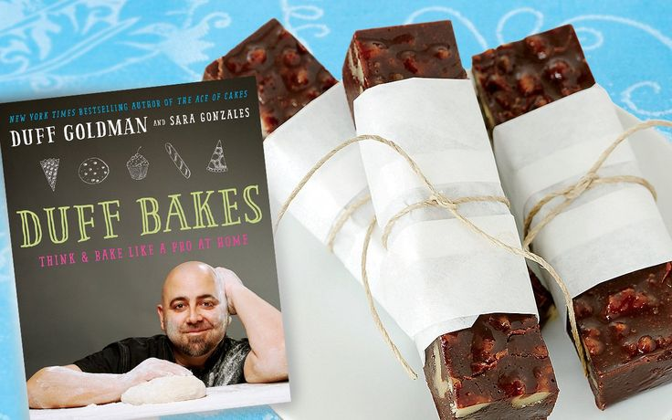 Fudge is a classic holiday treat, turning up in gift boxes and on dessert platters all season long. Duff Goldman, host of the Food Network's Duff Till Dawn and a judge on the network's Holiday Baking Championship, shares a decadent version in his new cookbook, Duff Bakes: Think and Bake Like a Pro at Home [...]