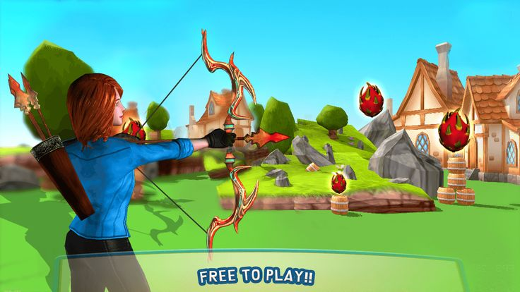 An Amazing #BowAndArrow Game To Make You Thrill...!! #dragonfruitshoot, #archery3d, #archerygame, #archerychampion, #archerymaster, #appleshooter, #fruitshoot