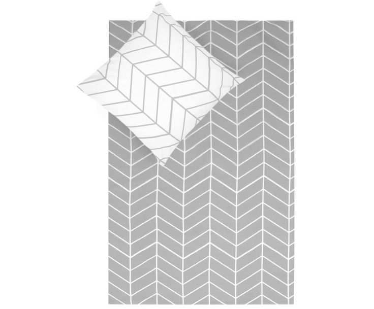 Schlafen Sie schön! Shoppen Sie Renforcé-Wendebettwäsche Lian in Hellgrau und Weiß und genießen Sie Ihren Schlaf. Lassen Sie sich von by 46 auf >> WestwingNow inspirieren.