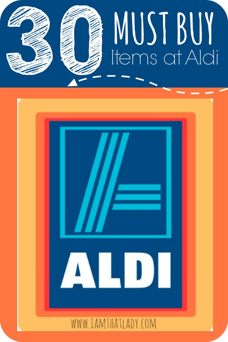 Are you wondering what is good to eat at Aldi? Here are 30 must buy items at Aldi so you can save every week!