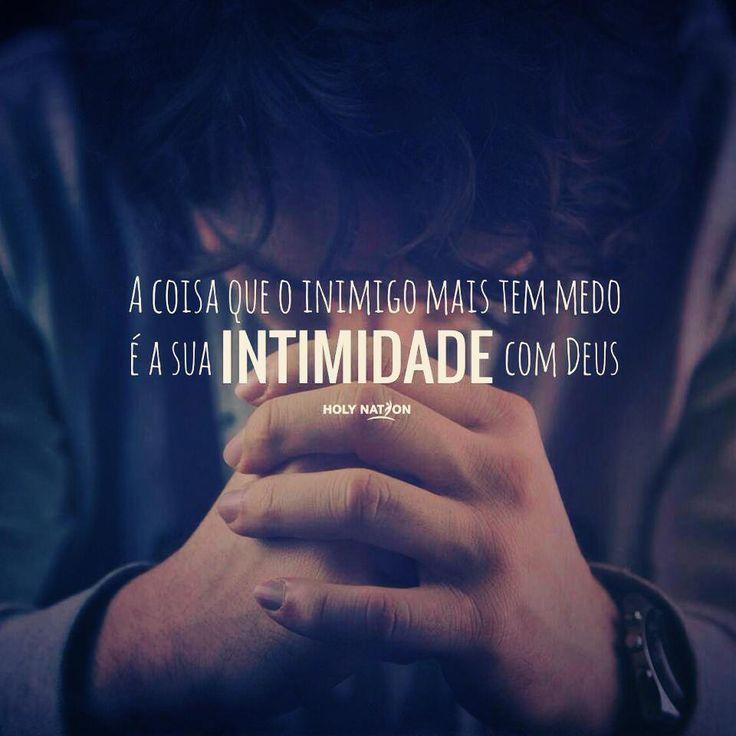 tenha intimidade com Senhor Jesus!