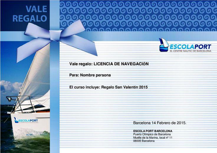 Regalo Náutico: Curso Licencia de Navegación
