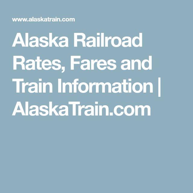 Alaska Railroad Rates, Fares and Train Information | AlaskaTrain.com