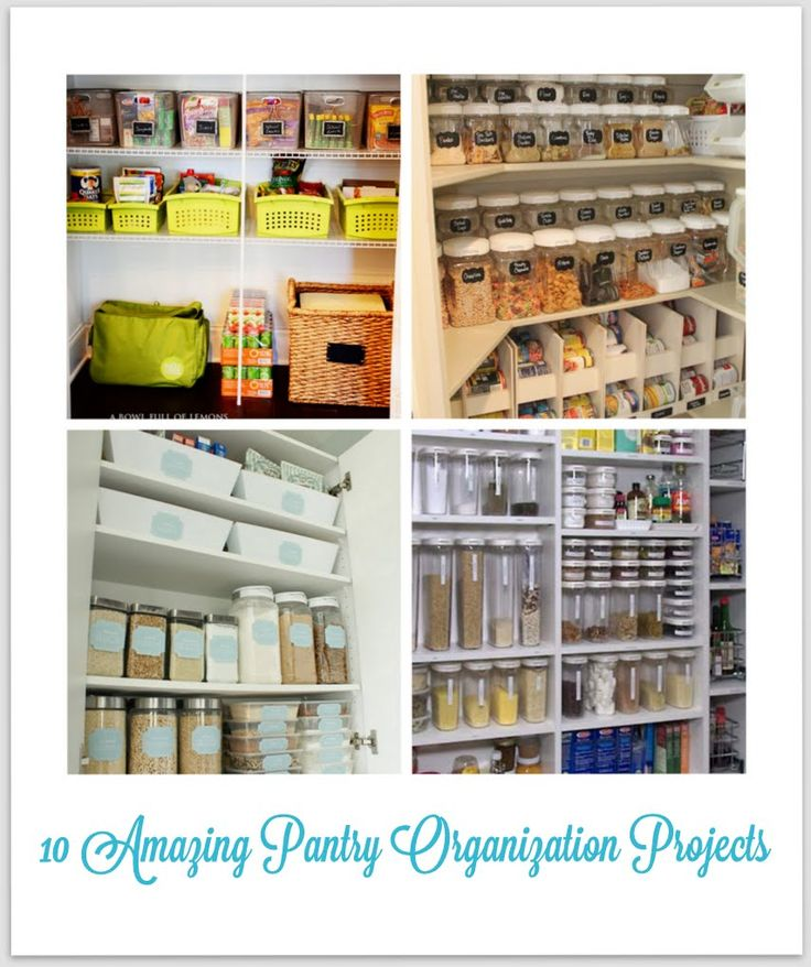 Mirabelle Creations: {Home} -- Kitchen Pantry Organization Ideas