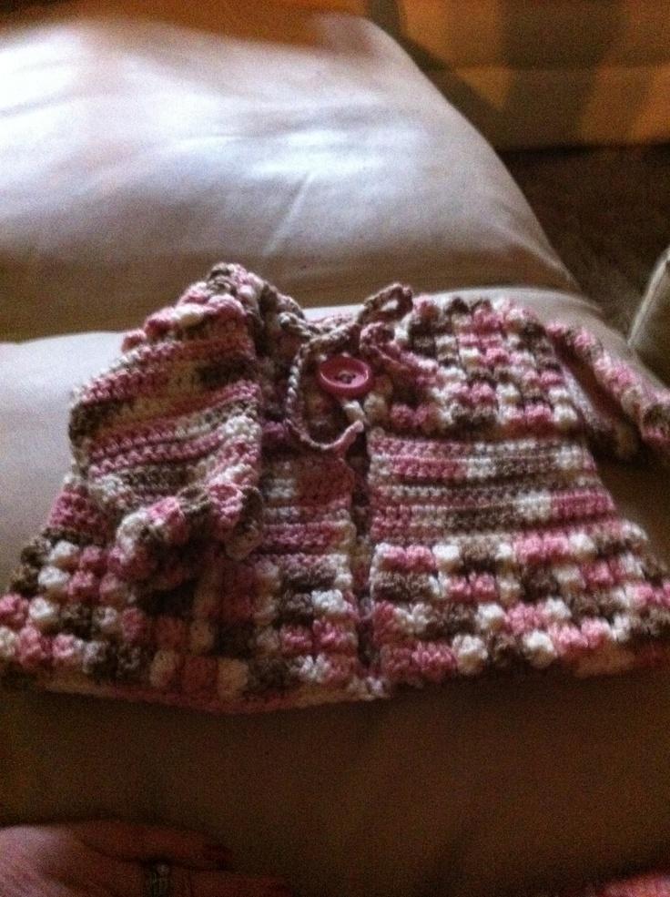Crochet Patterns Michaels : Baby sweater crochet size six months... Pattern on michaels.com free ...