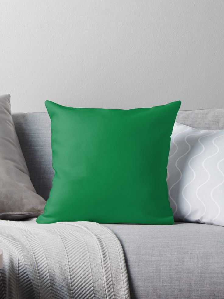 'Emerald' Throw Pillow by Moonshine Paradise  #redbubble #emerald #pillows #home #decor