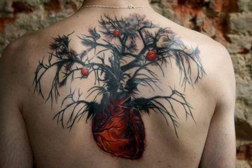 .: Tattoo Ideas, Tattoos, Heart Tattoo, Body Art, Trees, Heart Tree, Ink
