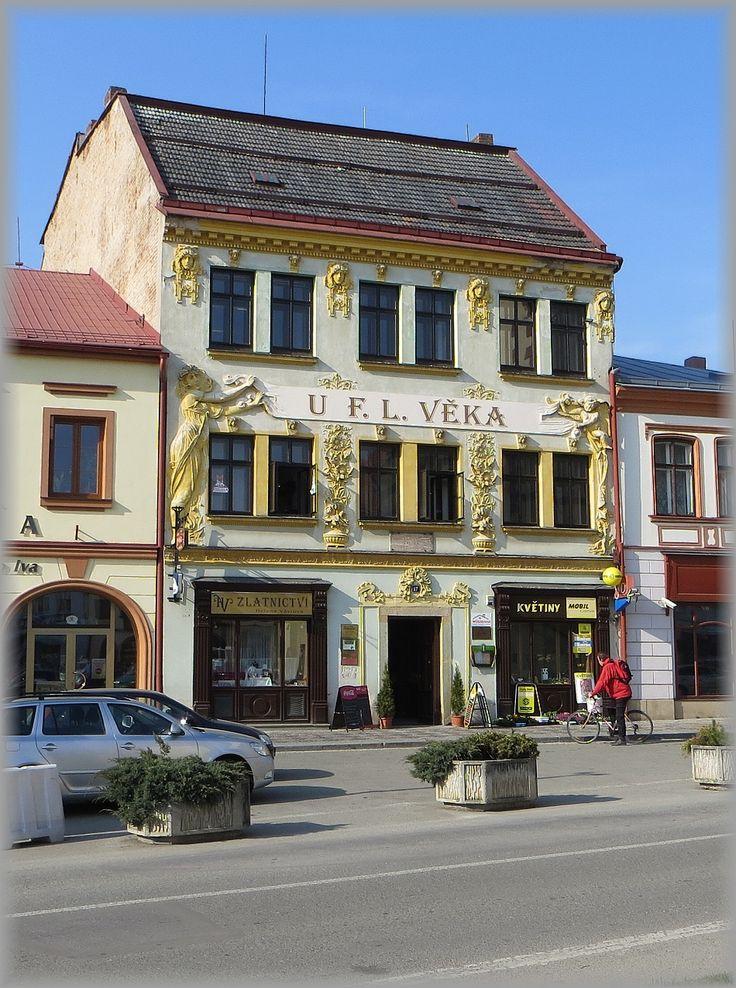 Dobruška - secesní dům