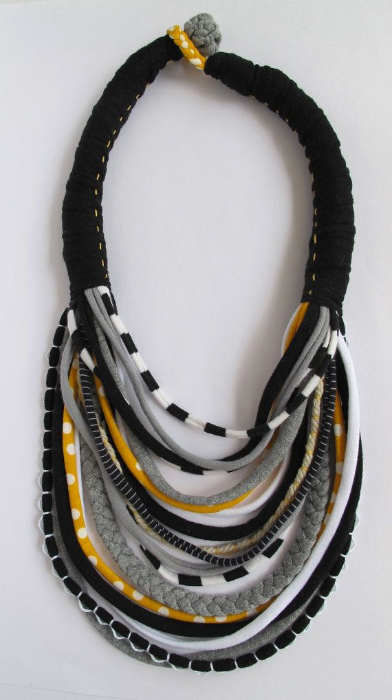 Custom Made Baby Friendly Jersey Knit Necklace with Toggle and Loop (Breastfeeding Friendly)