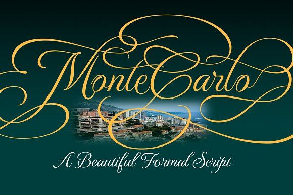 MonteCarlo Package 50% Off by TypeSETit on @creativemarket