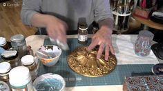 Екатерина Васильева Имитация патинированных металлов на различных поверхностях