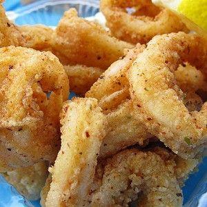 кальмары в горчице