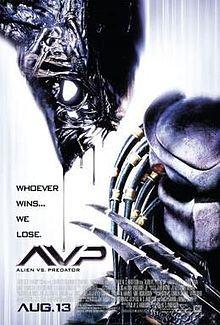 Avp alien vs Predcitor (2004) Starring: Sanaa Lathan, Lance Henriksen, Raoul Bova, Ewen Bremner and Colin Salmon
