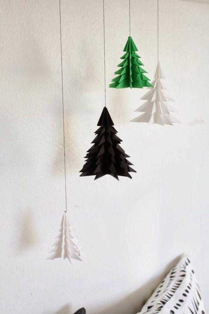Creative DIY závěsné dekorace kutilství nápady Vánoce