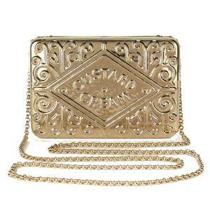 OMG I NEEEEEEED THIS!!!!  The Custard Cream Clutch Bag | sheerluxe.com