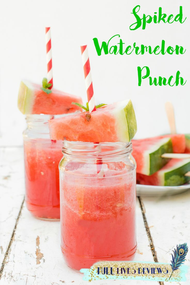 Spiked Watermelon Punch