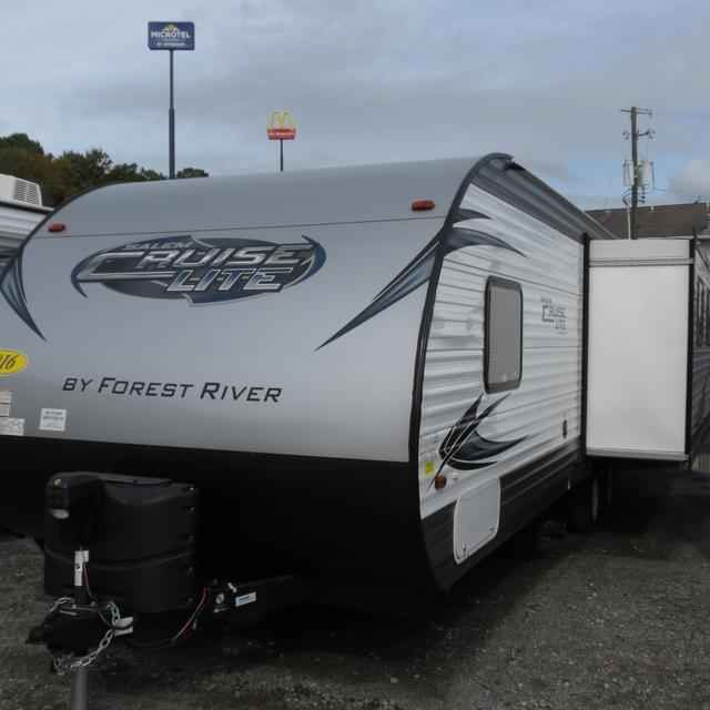 2016 New Forest River SALEM CRUISE LITE 253RLXL Travel Trailer in Georgia GA.Recreational Vehicle, rv, 2016 Forest River SALEM CRUISE LITE253RLXL, 6 GAL GAS DSI WATER HEATER, CENTRAL SWITCH COMMAND CENTER, Coach-Net Roadside Assistance, Cook Top Oven, DECORATIVE CURTAIN RO, Double door refrigerator, Ducted A/C, DVD,MP3,CD FM STEREO, Foot Flush Toilet, FULL EXTENSION BALL BEARING DRAWER GUIDES, Led Awning Light, Night Shades (LR only, NITROGEN FILLED TIRES, One Touch Power Awning, Outside…
