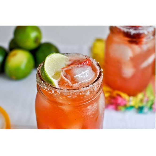 Fresh Strawberry Margaritas - The 11 Most Delicious Margarita Recipes Ever (You're Welcome)
