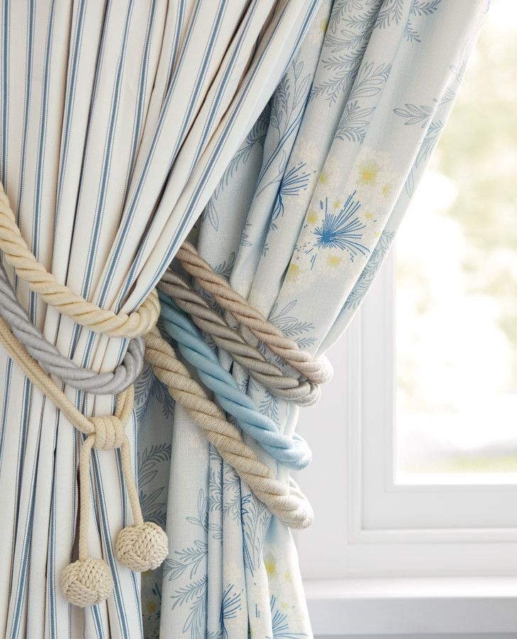 Falmouth Natural Curtain Tieback #lauraashleyhome