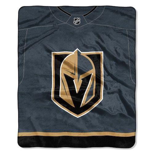 Vegas Golden Knights Jersey Raschel Throw by Northwest  1a49034cd