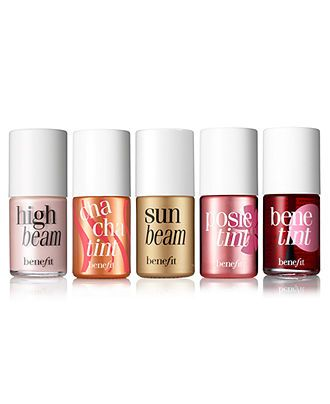 Benefit lip and cheek tint collection $30 for each of the three tints and $26 for each of the two beams. $142 for all 5 if bough separately. Not sure if they are sold as a collection but I want all 5!!