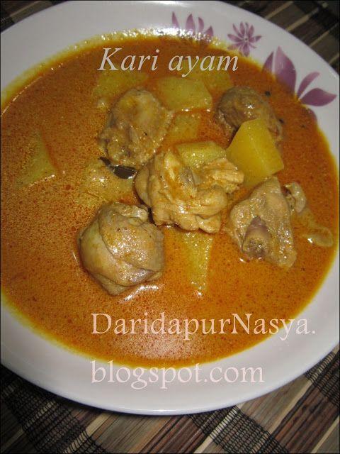 Dari Dapur Nasya Kari Ayam Berkerisek