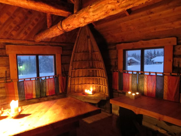 Pytinki, house with a fireplace at Rukakorpi Villas, Kuusamo Finland