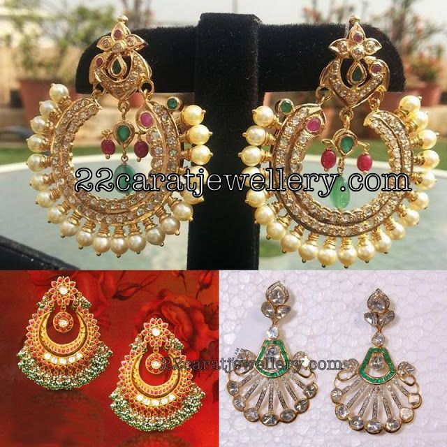 1245 best Traditional Gold Jhumkas Collection images on ...  Davanam